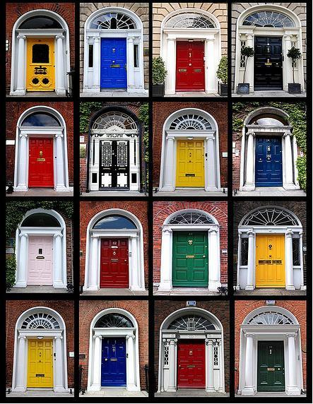 Colorful Front Doors painting interior doors with a flawless finish   exterior painting